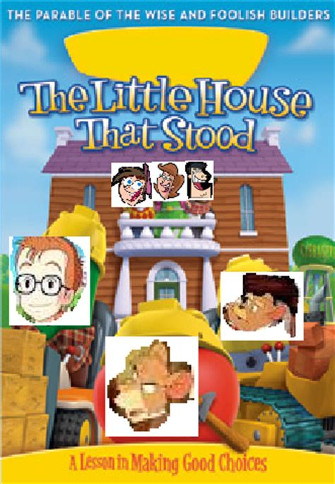 veggietales the little house that stood image the little house that stood png the parody wiki fandom powered by wikia
