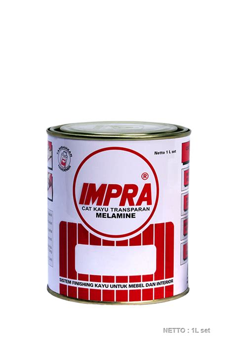 Impra Melamine Lack Ml 131 Clear Cat Kayu Transparan Clear Doff impra melamine system acid catalyzed system pt propan raya icc