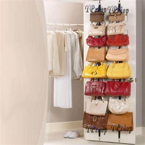 porta borse organizer porta borse bag rack appendi borsa con 16 ganci