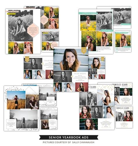 yearbook templates for photoshop 17 best images about senior announcement yearbook ad ideas