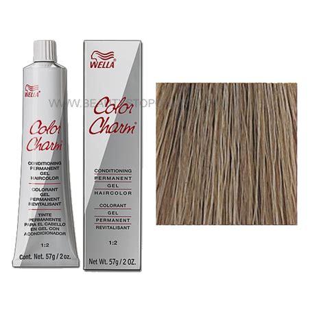 wella color charm formulas wella color charm permanent gel 7aa 632 medium blonde ash