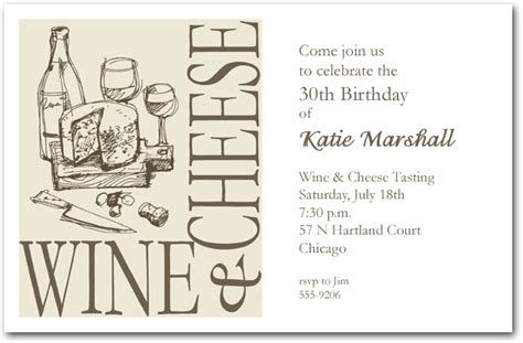 wine and cheese invitation template wine and cheese invitation wine invitations