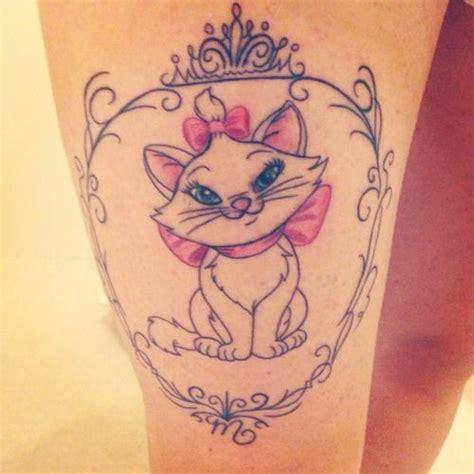 tattoo marie cat my disney marie thigh tattoo lifestyle tattoo