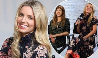 Maxi Shofia Mol annabelle wallis is the picture of class in billowing floral maxi dress as she promotes the