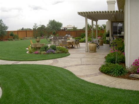 Big Garden Ideas Garden Clipgoo Landscaping Ideas For Big Backyards