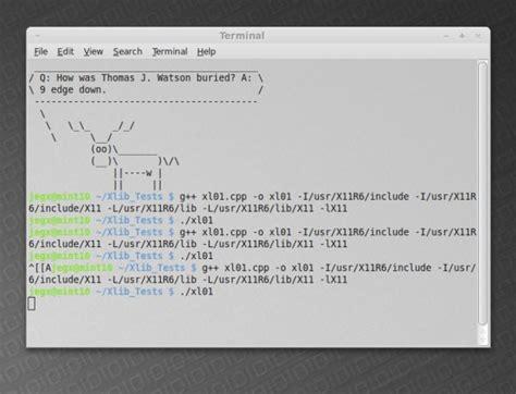linux xlib tutorial programming simple x11 code sle for linux and mac os x