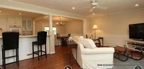 how to decorate a tri level home tri level house with open concept pics evolution of
