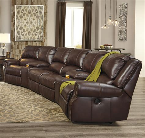 collinsville  piece power recline theater seating group