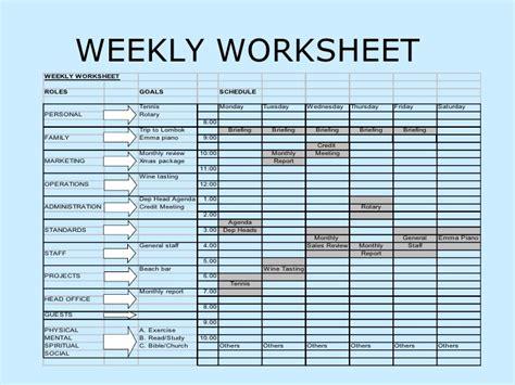 Time Management Worksheet by All Worksheets 187 Time Management Worksheets Printable