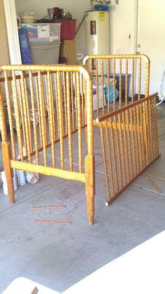 Took An Old Drop Side Crib And Made A Baby Gate Kids Drop Side Baby Crib
