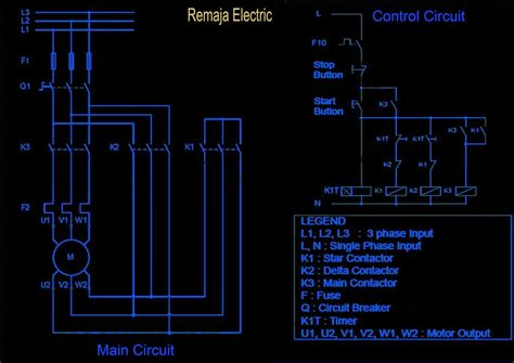 contactor wiring diagram with timer datasheet contactor