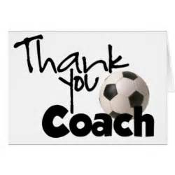 Soccer Thank You Card Template by Thank You Coach Soccer Greeting Card