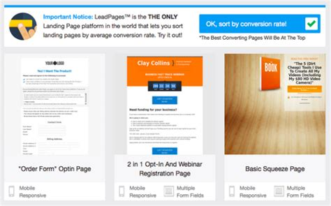 Landing Page Optimization Testing Q A With Clay Collins Of Leadpages Leadpages Landing Page Templates