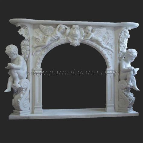 Carved Fireplace by Marble Fireplaces Surrounds Mantles Travertine Sandstone