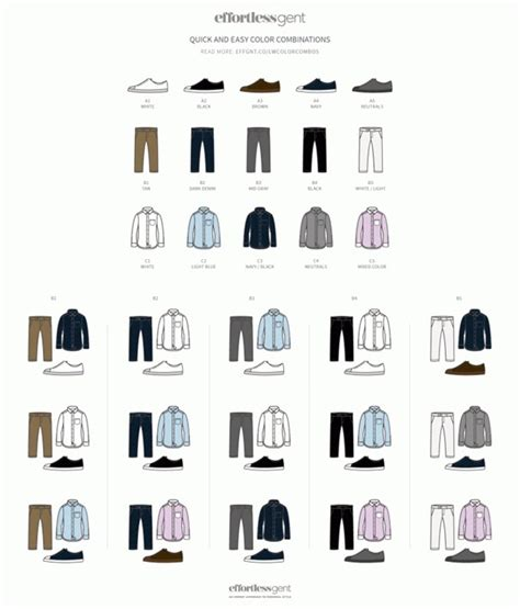 color combination for clothes men s guide to perfect pant shirt combination clothes