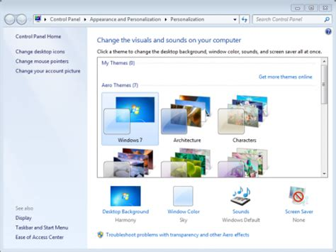 windows 7 desktop themes not changing allow themes to change desktop icons maximumpcguides