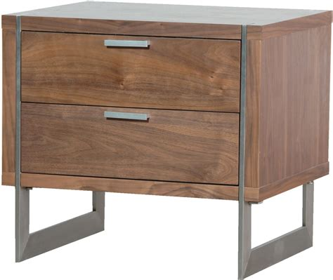 bedside tables two drawer walnut retro bedside table bedside tables