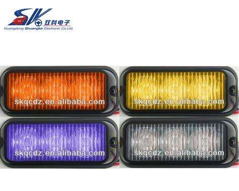 green and amber strobe lights 2pcs new 3w high power 3 led waterproof car truck