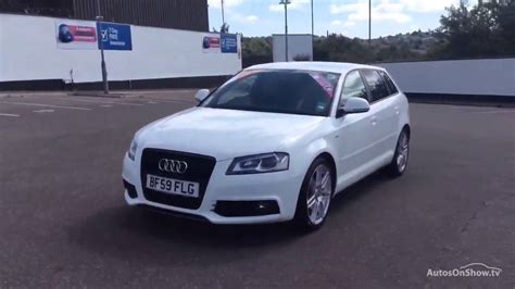 audi a3 sportback special edition audi a3 sportback tfsi s line special edition white 2009