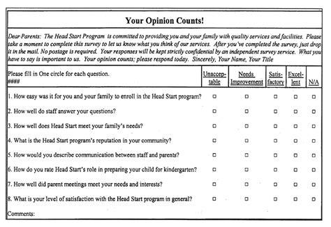 survey questionnaire card authorization