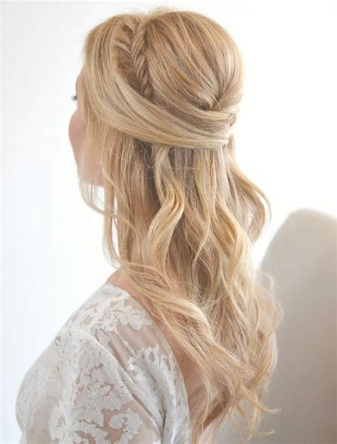 down hairstyles with headbands 26 stunning half up half down hairstyles updo wedding