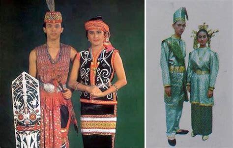 Baju Perang Dayak pakaian adat kalimantan barat gambar dan keterangannya adat tradisional