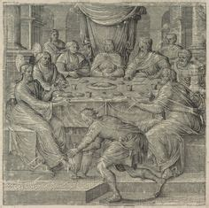 Wedding At Cana Sermon Outline by The Wedding Feast At Cana C 1545 By Tintoretto