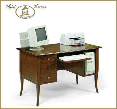 ebay scrivanie scrivania scrittoio arte povera porta computer pc in legno