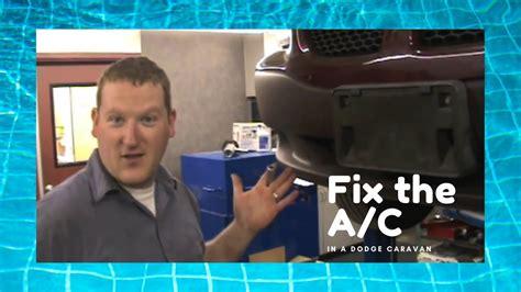 repair  dodge caravan air conditioning system