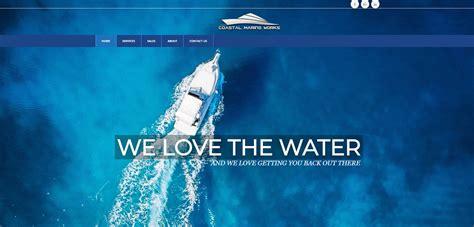 boat mechanic gulf breeze coastal marine works ditibit website design seo