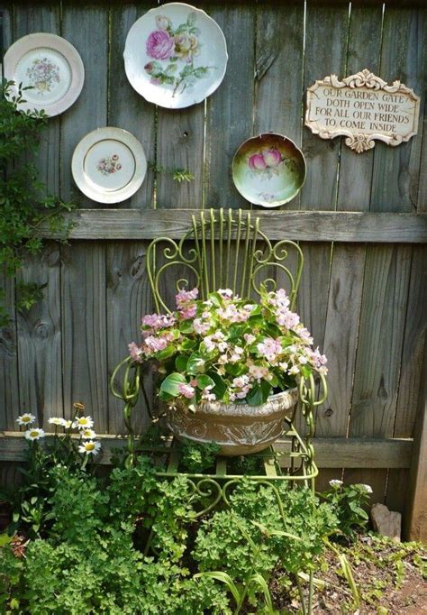 Gardening Decor Ideas 34 Best Vintage Garden Decor Ideas And Designs For 2018