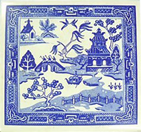 willow pattern ideas willow pattern tile visuology