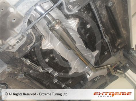 peugeot 206 gti exhaust system sport exhausts