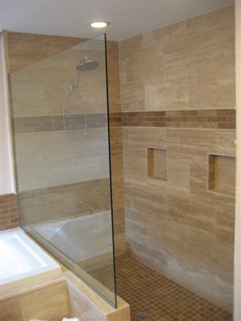 travertine shower houzz travertine bathroom contemporary bathroom ta by