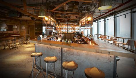 top bars in canary wharf bar bōkan restaurant bar roof