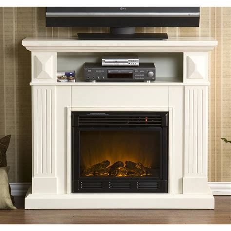 Sei Electric Fireplace by Sei 174 Graham Media Console With Electric Fireplace 200802
