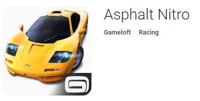 asphalt nitro mod asphalt nitro v1 5 0g apk android apps apk free 4appsapk