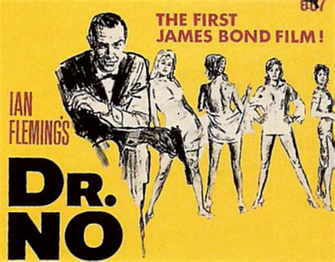 film james bond adegan panas dr no 1962 poster postcard sean connery james bond