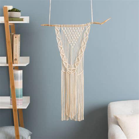 Macrame Wall Hanging Diy - diy macrame wall hanging kit by wool couture