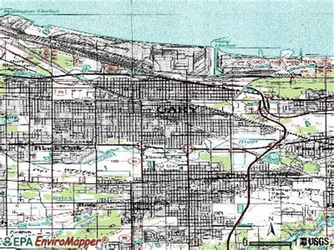Gary Indiana Records Gary Indiana Map My