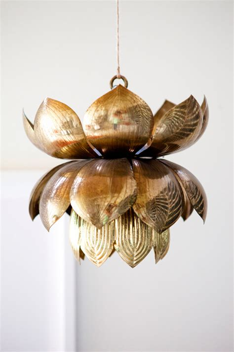 Lotus Flower Pendant Light Lotus Chandelier The Pursuit Of Style
