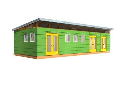 Modern Prefab Shed Kits by 16 X 40 Modern Shed 640 Sq Ft Prefab Shed Kit