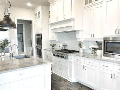 white kitchen cabinets with grey countertops quartzite countertop kitchen white and grey quartzite