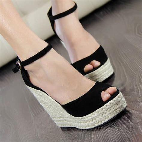 womens high heel 2016 new high heels sandals platform wedge sandals