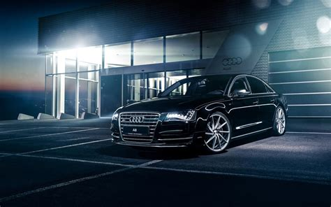 Black Car In The Backyard by 2018 Black Audi A8 In The In The Backyard Of
