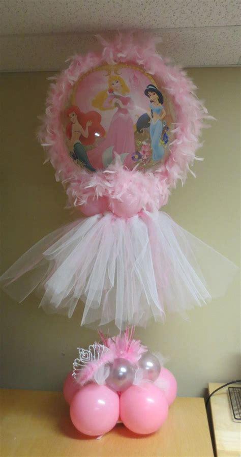 S Creations Birthday Theme Centerpieces Princess Tutu Themed Centerpiece Balloon Supplies