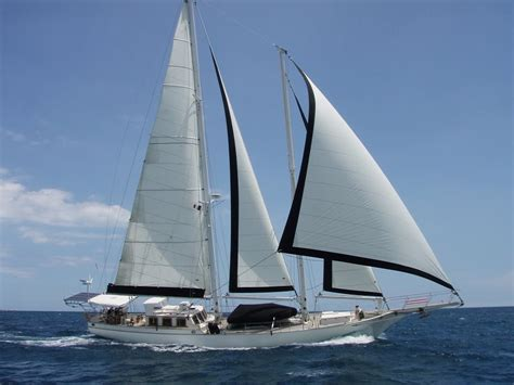yacht vs sailboat herreshoff staysail schooner vid2 for sale the yacht