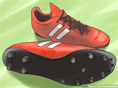 buy football shoes how to buy football shoes 9 steps with pictures wikihow