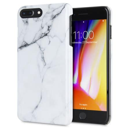 lovecases marble iphone 8 plus 7 plus classic white