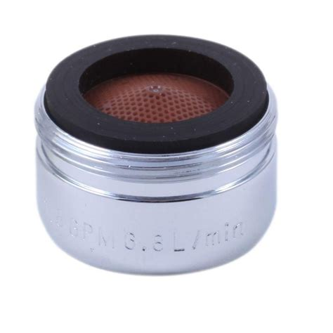 kitchen faucet size delta faucet aerator thread size